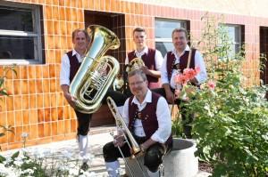 Hinten: Reiner Zanker, Markus Merkle, Andreas Gschwind Vorne: Klaus Oechsle